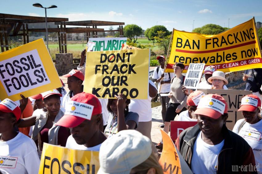 Afrique du Sud gaz de schiste fracturation