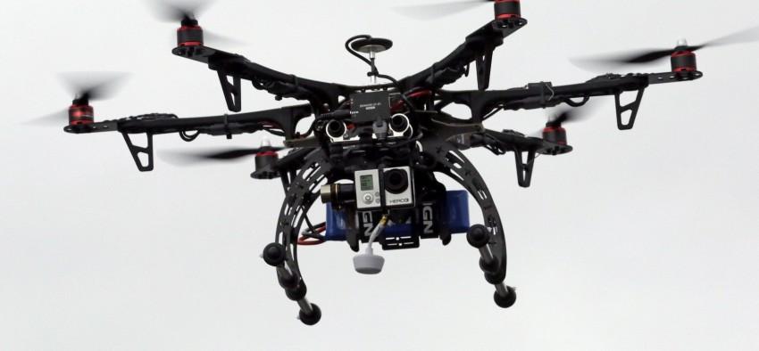 Sud-ouest : un drone à la rescousse de l'évasion thermique