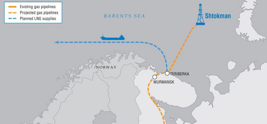 Chtokman Total GNL gaz Gazprom Russie France