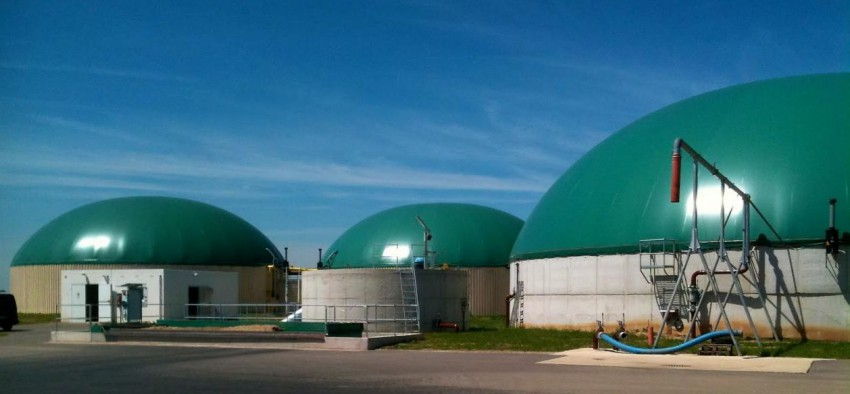station biogaz france