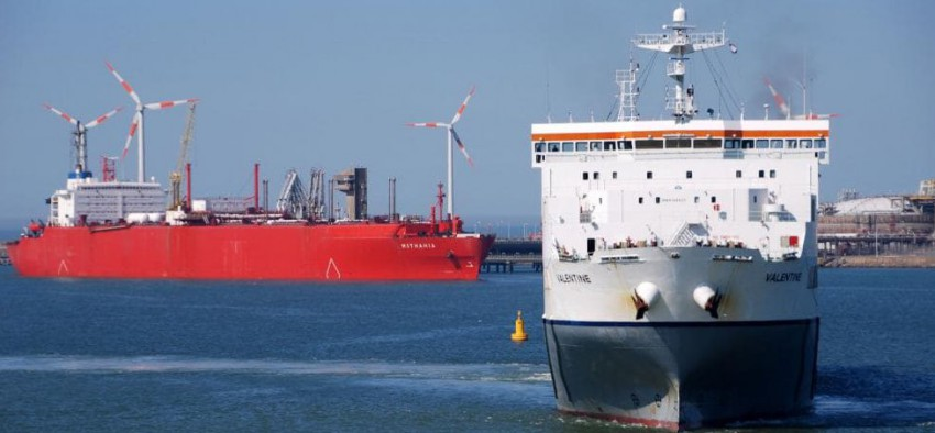 Engie Gaz naturel Transport fluvial Engie Zeebruge
