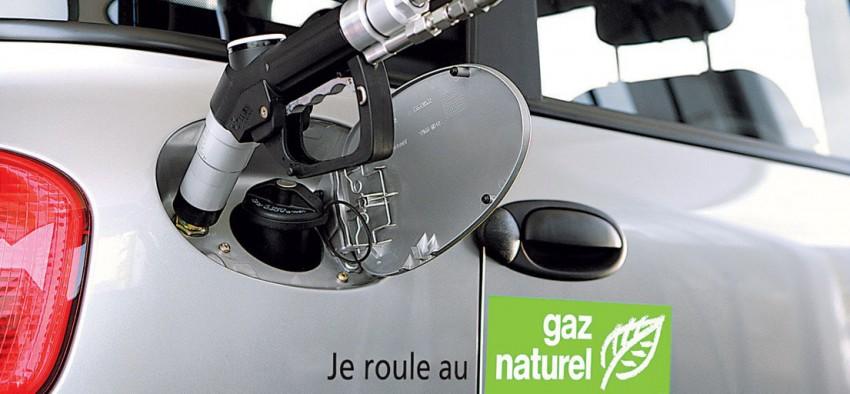 Gaz naturel véhicules France
