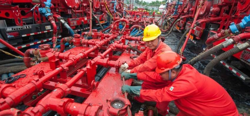 Gaz naturel Chine