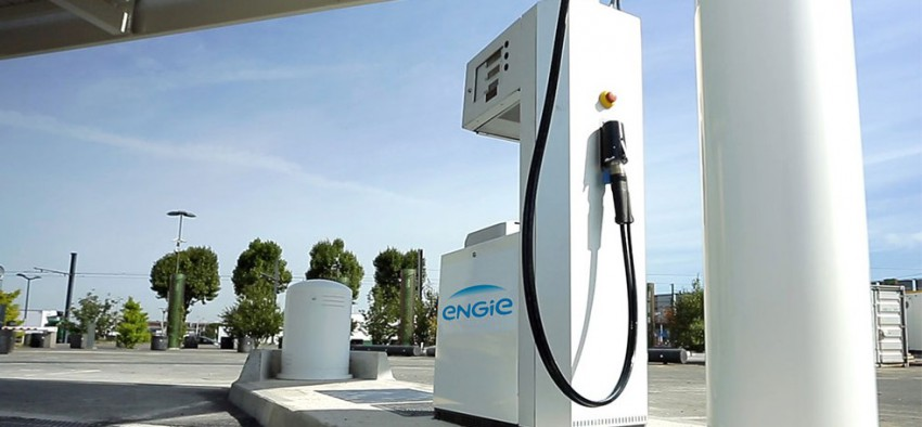 Engie GNV BioGNV stations-service