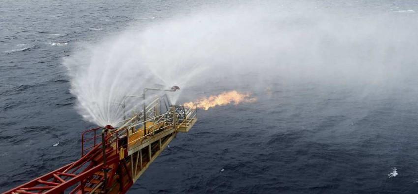 Chine gaz de glace hydrate de méthane