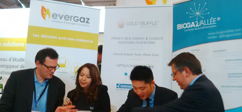 Biogaz Chine France Evergaz