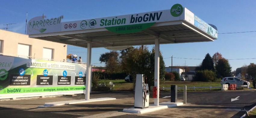 Biogaz BioGNV BioGNC Nouvelle Aquitaine France