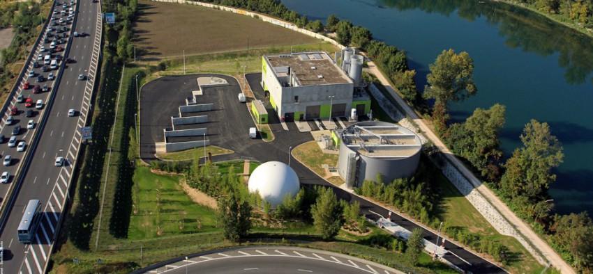 Suez méthanisation biogaz Marseille France