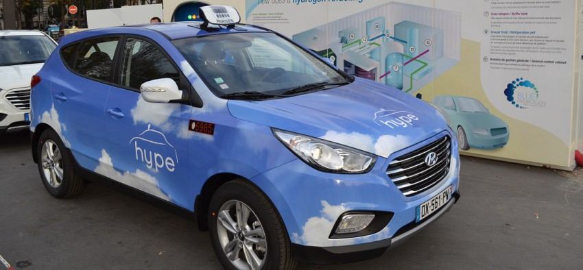 Hydrogène mobilité Paris Hype France