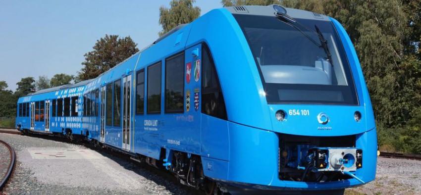 gaz naturel hydrogène train hydrogène Alstom France