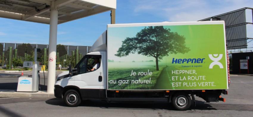 gaz naturel GNV France Europe