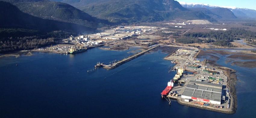 Gaz naturel GNL Shell Canada Asie