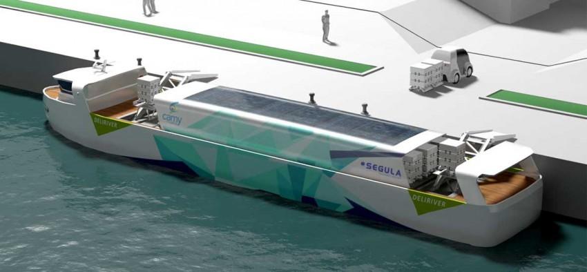 gaz naturel GNC GRDF Segula Technologies navette fluviale logistique Paris