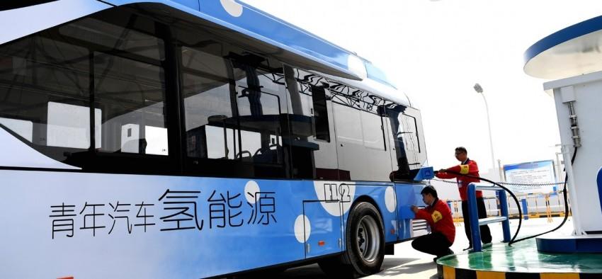 Hydrogène gaz Chine