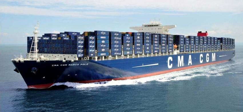 GNL porte-conteneurs CMA CGM France