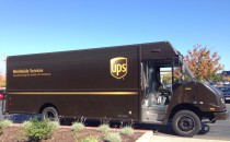 UPS biométhane USA